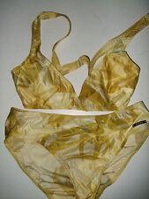 Solar Bikini  Größe 38 A mit Softschalen Gelb  Neu