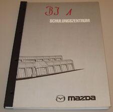 Schulungsunterlage Mazda 323 Typ BJ 1 Motor Bremsen Getriebe Karosserie Klima!