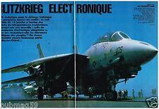 Coupure de presse Clipping 1991 (15 pages) Guerre Golfe,Blitzkrieg électronique