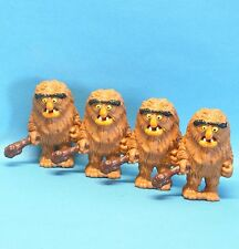 Muppet Show SCHLEICH 4 Muppets : 4x Monster SWEETUMS mit Keule TOPZUSTAND