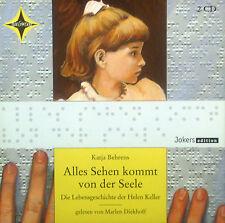 2erCD KATJA BEHRENS - tout voir vient von der (des) barre, Helen Keller