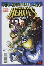 Age of Heroes #2 2010 Heroic Age Gravity American Son Gauntlet Young Masters p