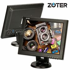 "ZOTER 12"" Inch LCD Video Monitor Screen HDMI BNC VGA for PC CCTV Security Camera"