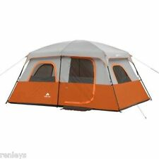 Camping Tent 8-Person Canyon Waterproof 2 Rooms Family Cabin Shelter Tents NEW