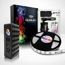 Waterproof LED Strip Light Kit - SLR® ColorBloom Multi-Color 5m 5050 12v r