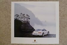2006 Porsche Carrera 4 Coupe Showroom Advertising Sales Poster RARE Awesome L@@K