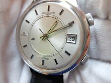 VINTAGE JAEGER LECOULTRE SPEEDBEAT MEMOVOX JUMBO ALARM WATCH (WATCH THE VIDEO)