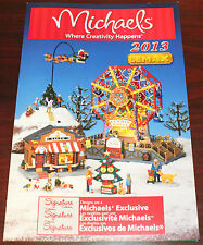 Lemax Christmas Town 2013 Catalog! Mint Condition! Free Shipping! NEW!