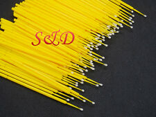 FDA Dental 2Moderate Disposable Micro Applicator Brush Bendable 100PCS 1Yellow