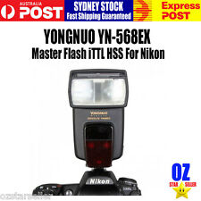 Yongnuo YN-568EX ITTL High-Speed Sync HSS Wireless Flash Speedlite For Nikon