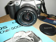 CANON EOS 500n with CANON EF ZOOM  1:4.5-5.6/35-80mm Lens