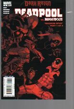 DEADPOOL VOL 2   8  MAGNUM OPUS PT 1  THUNDERBOLTS CROSS OVER