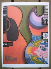 ERIC CLAPTON Cream Madison Square Garden 2006 Chuck Sperry Concert mini Poster