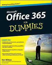 Microsoft Office 365 for Dummies by Jennifer Reed and Ken Withee (2012,...