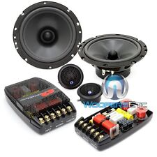 "CDT AUDIO CL-61 6.5"" 160W RMS 2-WAY COMPONENT SPEAKERS MIDS CROSSOVERS TWEETERS"