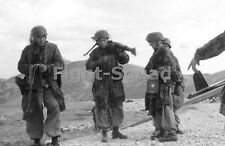 WW2 Picture Photo 1943 German airborne troops at Gran Sasso Italy  2023