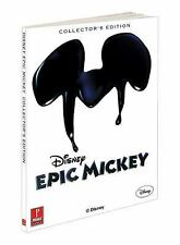 Disney's Epic Mickey Collector's Edition Strategy Guide Prima Games NEW SEALED