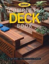 Complete Deck Book, Paperback, All new designs and the latest materials & techni