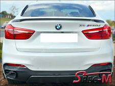 2015-2017 BMW X6 F16 X6M F86 SUV Performance Style Trunk Spoiler Unpainted New