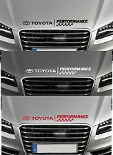 For TOYOTA  PERFORMANCE BONNET CHECKS  -  CAR DECAL STICKER  CELICA  600mm long