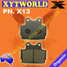 REAR Brake Pads for Yamaha FZR 250 R (3LN) 1989