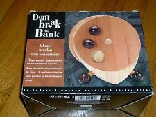 NEW IN BOX-DON'T BREAK THE BANK-A FUNKY WOODEN COIN CONUNDRUM-MADE BY T.O.Y.S. -