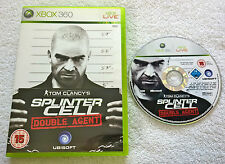 TOM CLANCY'S SPLINTER CELL DOUBLE AGENT-Microsoft XBOX 360