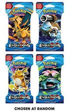 FOUR x Pokemon XY Evolutions Single Booster Packs FREE SHIPPING!!