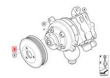 Genuine BMW E60 E60N E61 E61N E63 E63N Steering Pump Pulley OEM 32427516620