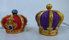 ACQUARIO Red King & Porpora Regina Corona Decorazione