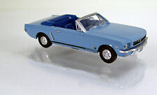 Wiking 020548 Ford Mustang T5 Cabriolet  -  hellblau