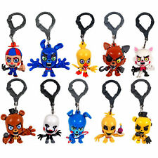 10x FNAF Five 5 Nights at Freddy's Foxy Chica Mangle Clip Mini Figure Hanger Toy