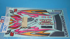 Tamiya Nitro Crusher XBG Decals / Stickers (43525) 1424387 RC Part