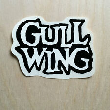 NOS Gullwing trucks skateboard sticker clear vinyl Indy Ace Theeve Thunder