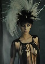 Marc Lagrange Original XXML Photo Print 50x70 Wild feathers 2010 Semi-Nude Feder