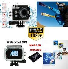 Pro Cam Sport  HD 1080p Action Camera Go  Videocamera Subacquea SPORT ESTREMI