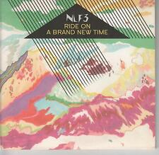 NLF3 - Ride On A Brand New Time - 2008 UK 10-track CD album - FREE UK SHIPPING!