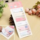 1/2/4 x Cute 120 Pages Sticker Flags Bookmark Marker Memo Index Tab Sticky Note
