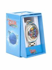 Nintendo The Legend Of Zelda Wind Waker Link Stained Glass Bling Gem Wrist Watch