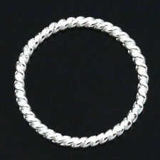50pcs Jewelry Hoop Ring Connectors Pendants Findings 18mm