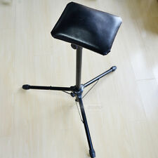 Adjustable Height Tattoo Stainless Steel Arm Rest Stand Holder + Foam Pad Black