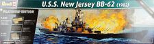 Revell Germany USS New Jersey BB-62 Platinum Edition plastic model kit 1/350