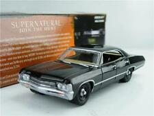 Soprannaturale CHEVROLET IMPALA Modello auto scala 1:64 GREENLIGHT Loot CRATE 8cm k8q