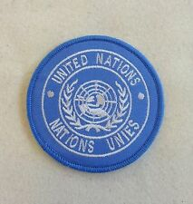 UN Shoulder Patch, United Nations, Army, Badge, TRF, Sew on & Iron On Version