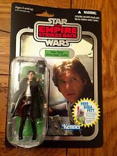 Star Wars Vintage Collection HAN SOLO Echo Base Outfit Silver Foil VC03 ESB