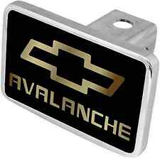 New Chevrolet Avalanche Gold Logo/Word Tow Hitch Cover Plug