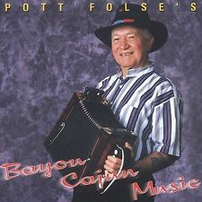 Pott Folse: Bayou Cajun Music  Audio Cassette