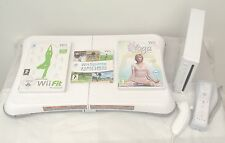 Wii console+w II fit + 53 jeux et activités, y compris une garantie ans gratuit