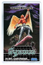 WINGS OF WOR GYNOUG MEGA DRIVE FRIDGE MAGNET IMAN NEVERA