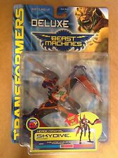 Transformers Beast Machines Skydive figure sealed MOC Heroic Maximal